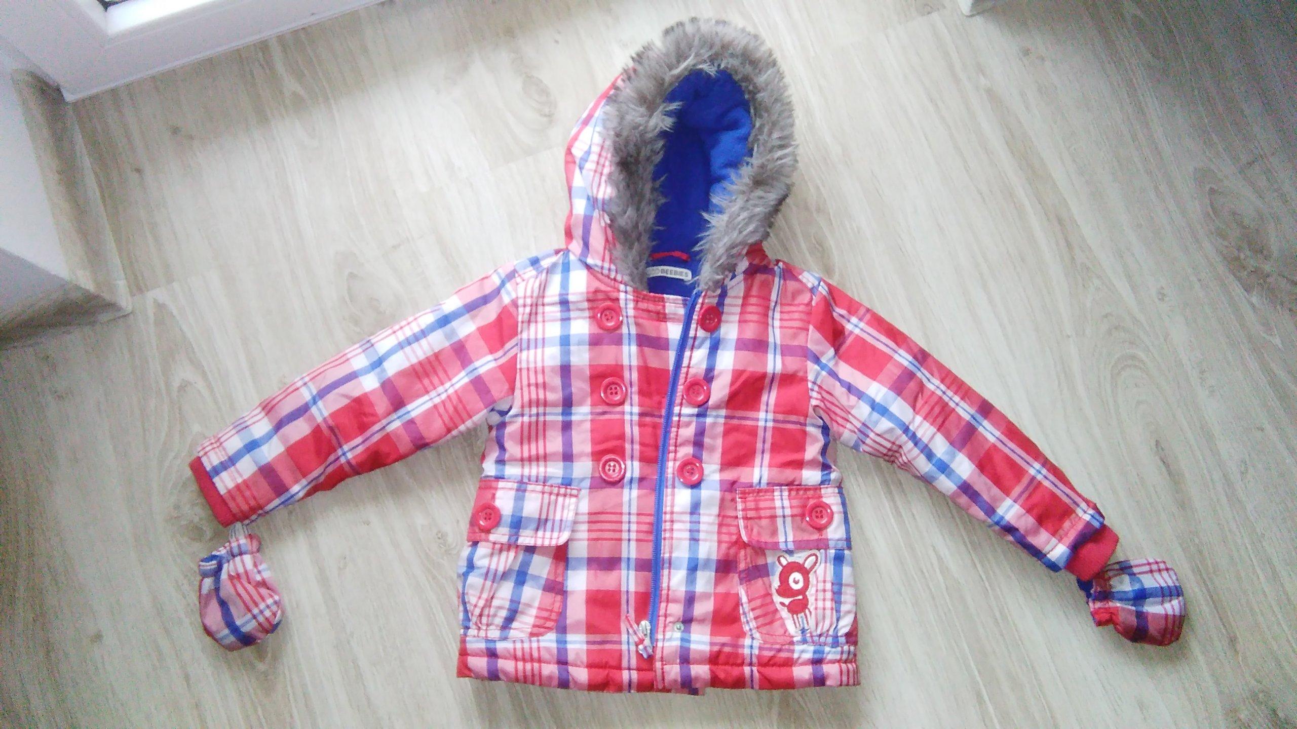 2f039ce3b29ae Kurtka zimowa dla dziewczynki r.86 - 7060391022 - oficjalne archiwum ...