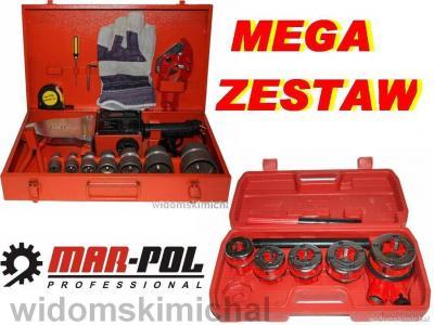 ZGRZEWARKA PVC 2660W + GWINTOWNICA DO RUR 5 CZĘSCI