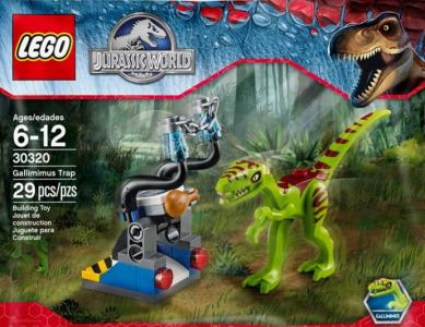 Lego Jurassic World 30320 Gallimimus Trap Nowość 5337025702