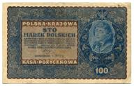 100 marek polskich 1919 IH ser. R