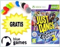 JUST DANCE DISNEY PARTY 2 X360 KINECT NOWA +GRATIS