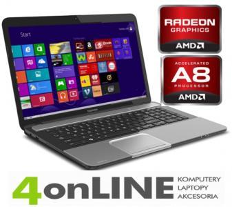 Piekna L855 QuadCore AMD7640/4GB/640GB/USB 3.0