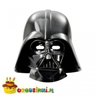 Maski papierowe VADER Gwiezdne Wojny Star Wars 6sz