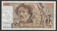 Francja - 100 franków - 1981 - Delacroix