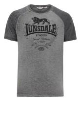 T-Shirt LONSDALE LONDON NEWMILL szary XL