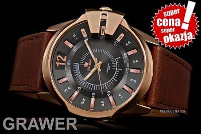 Zegarek Męski Gino Rossi COLIBR 6 wzorów+GRAWER