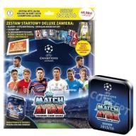 Liga Mistrzów Zestaw startowy +PUSZKA +karta LE