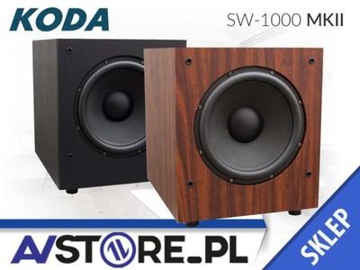 """SUBWOOFER KODA SW-1000 MK II 100W 10"""" ORZECH"""
