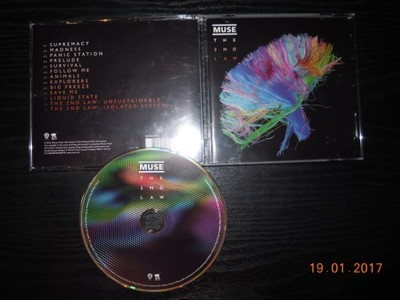 MUSE - The 2nd Law. 2012 rok. CD Warner Music.