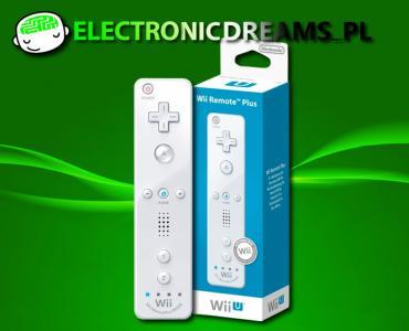 Oryginalny Nowy Wii U Wii Remote Plus Bialy 4477336234 Oficjalne Archiwum Allegro