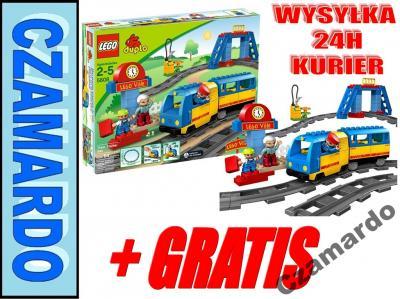 Klocki Lego Duplo Jeżdżący Pociąg Kolejka 5608 2856055773