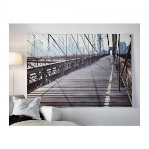 Ikea Premiar Obraz Most Brookliński 200x140 Cm 5734308288