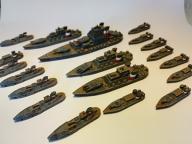 DYSTOPIAN WARS Prussian Fleet