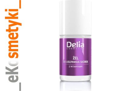 Delia Cosmetics Żel do usuwania skórek z 11ml