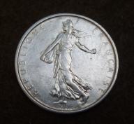 5 franków 1964 SREBRO 12g FRANCJA ! piekna ! BCM