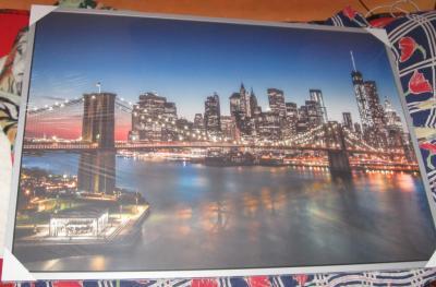 Duży Obraz Ikea 140x100 Most Mostu New York Wtc 5645764940