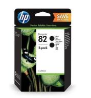 HP INC. 82 Black 2-Pack P2V34A