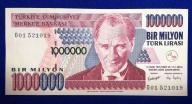 Turcja 1 000 000 Lirasi 1970 r. 199/10