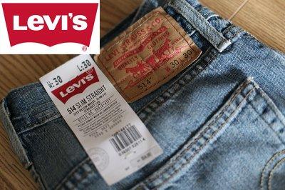 LEVIS 514 SLIM STRAIGHT 00514-4177 W30/L30 80CM