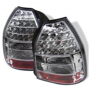 LAMPY DIODOWE HONDA CIVIC VI 96 00R 3D LED CHROM