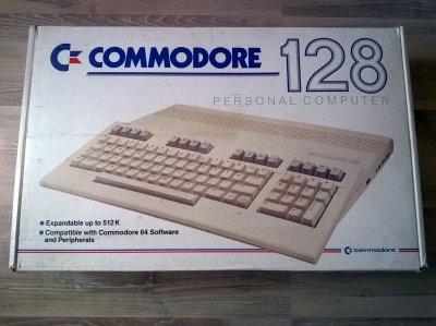 COMMODORE 128 + STACJA 1571 - BOXY - JAK Z FABRYKI