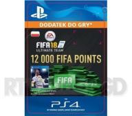 FIFA 18 12000 Punktów [kod aktywacyjny]