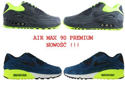 Sklep: big pl buty nike air max 90 szary zielen 278