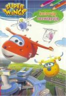 Książka samoloty Super Wings Koloruję, rozwiązuję