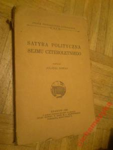 NOWAK SATYRA POLITYCZNA SEJMU CZTEROLETNIEGO 1933