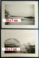 2 x Białobrzegi most Pilica 1939 okupacja