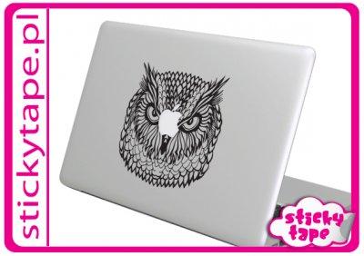 Naklejka na MacBooka Maka Apple Sowa Owl