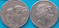 Australia 20 centów 2005r. KM 745 - 60 lat II WŚ