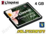 KINGSTON KARTA PAMIĘCI COMPACT FLASH 4GB 48H FV