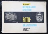 INFORMATOR SPRZĘTU FOTOGRAFICZNEGO