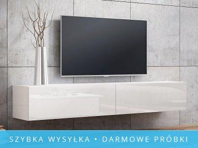 ~~ SZAFKA RTV ASPEN 180 2D WYSOKI POŁYSK MEBLE TV