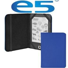Etui nylonowe e5 na czytnik ebook 6 niebieskie