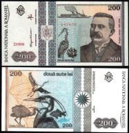 # RUMUNIA - 200 LEI - 1992 - P100 - UNC