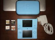 Nintendo DSi zestaw + Pokemon Heartgold