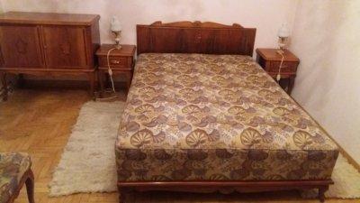Bardzo dobryFantastyczny Sypialnia w starym stylu łóżko szafa toaletka komp - 6143939229 EK31
