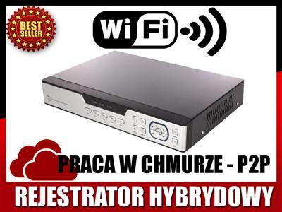 ONVIF 16 video HYBRYDOWY rejestrator HDMI IP_CLOUD