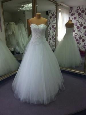 Suknia ślubna 3638 Ms Moda Stan Idealnyokazja 6705474729