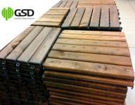 Podesty drewniane PŁYTY PODŁOGOWE impregnowane