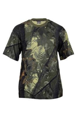 KOSZULKA BLUZKA T-shirt BAWELNA HUNTER OLIV M MFH