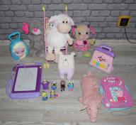 Zestaw zabawek dla dziewczynki fisher price
