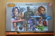 PUZZLE STAR WARS EDUCA 3000 NOWE FOLIA