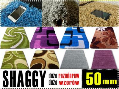 Piękne Dywany 200x250 Shaggy Włochacz 5cm At 24h 6014896351
