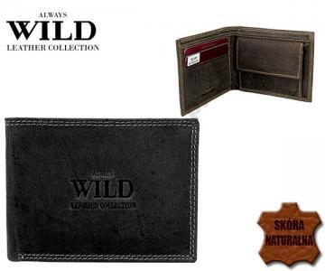 1359833c30715 Męski skórzany mały portfel