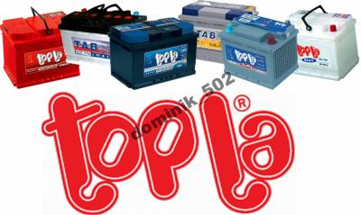 TOPLA TOP Akumulator 12V 54Ah 510A +P +30% mocy
