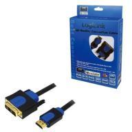 LogiLink Kabel HDMI-DVI 10m