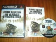 Brother in Arms Earn in Blood / jak nowa / PS2